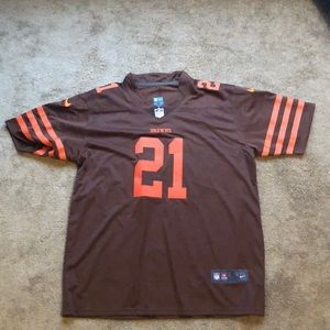 premium selection d4c3f b3623 Cleveland Browns Color Rush Denzel Ward Jersey
